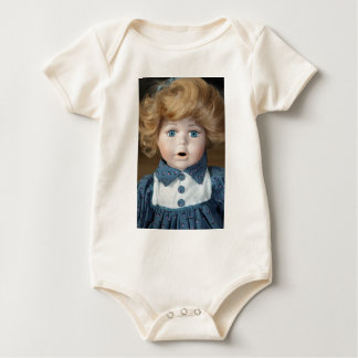 Doll Puppet show Eyes Baby Bodysuit