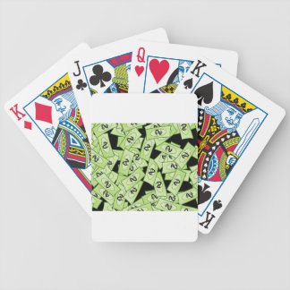 Dollar Bicycle Playing Cards