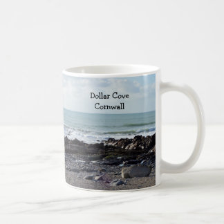 Dollar Cove Cornwall England Poldark Location Coffee Mug