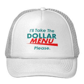 DOLLAR MENU Hat