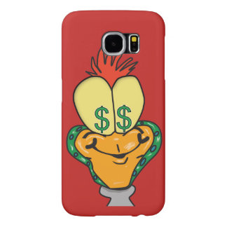dollar sign cartoon character phone case