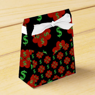Dollar Sign Graphic Pattern Favour Box