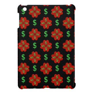 Dollar Sign Graphic Pattern iPad Mini Covers