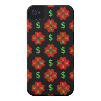 Dollar Sign Graphic Pattern iPhone 4 Covers