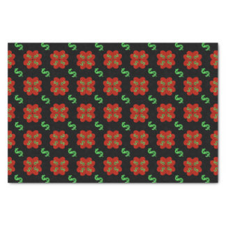 Dollar Sign Graphic Pattern Tissue Paper