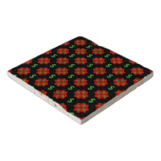 Dollar Sign Graphic Pattern Trivets