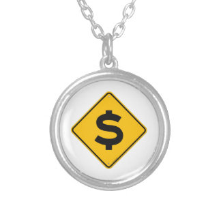 Dollar Sign Personalized Necklace