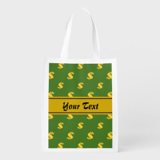 Dollar sign pattern  Reusable Bag
