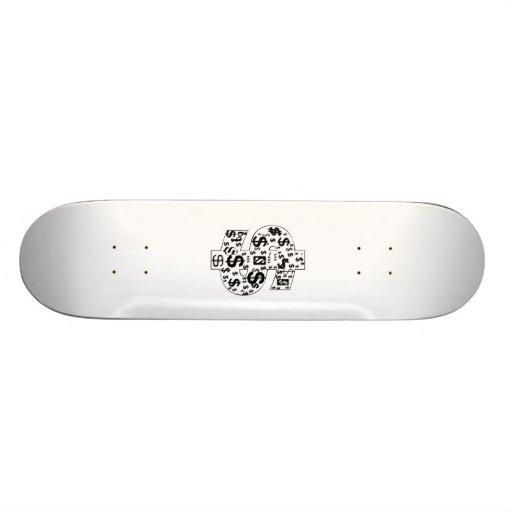 Dollar Signs Skate Board Decks