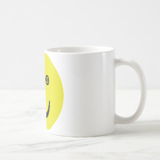 dollar smile icon coffee mug