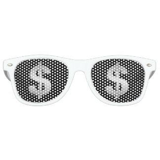 Dollar symbol retro sunglasses