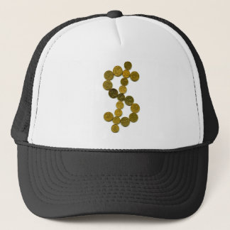 Dollar symbol trucker hat