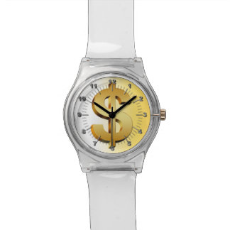 Dollar symbol watch