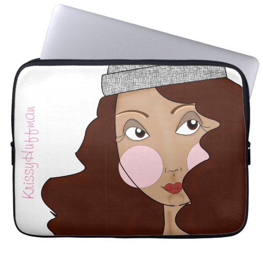 Dolled-up Laptop Sleeve
