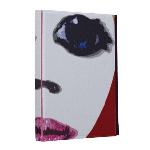 Dolls Face O iPad Folio Case