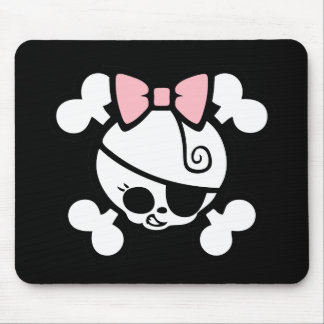 Dolly Bow Mouse Pad