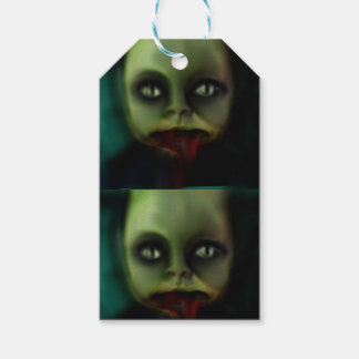 dolly death haunted doll products gift tags