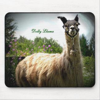 Dolly Llama Mousepad