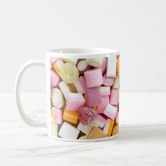 Dolly mixtures background mug