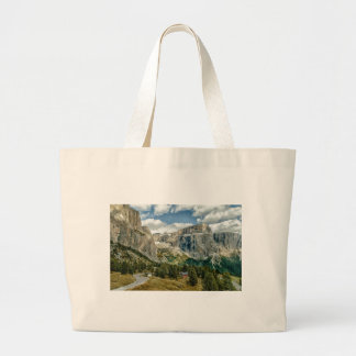Dolomites alps, Italy Large Tote Bag