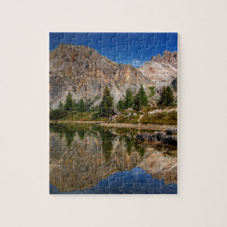 Dolomites mountain range in northeastern Italy Jigsaw Puzzle