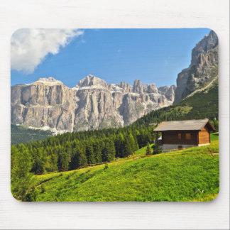 Dolomiti - high Fassa Valley Mouse Pad