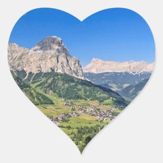 Dolomiti - Val Badia Heart Sticker