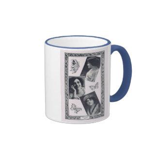 Dolores Casinelli 1913 vintage portrait mug