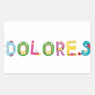 Dolores Sticker