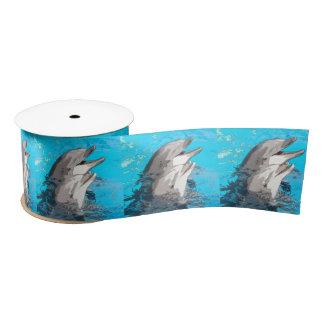 Dolphin20160501 Satin Ribbon