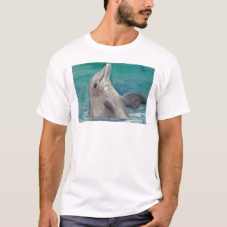 Dolphin aceo Mens Tshirt
