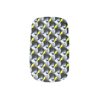 Dolphin and Bird 3D Artwork Minx® Nail Wraps