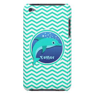 Dolphin Aqua Green Chevron Case-Mate iPod Touch Case