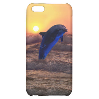 Dolphin at sunset iPhone 5C cover