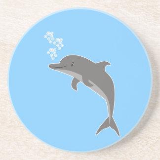 Dolphin Beverage Coaster