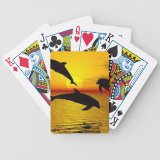 dolphin bicycle playing cards