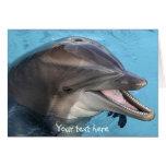 dolphin, card