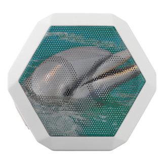 Dolphin Close Up White Bluetooth Speaker