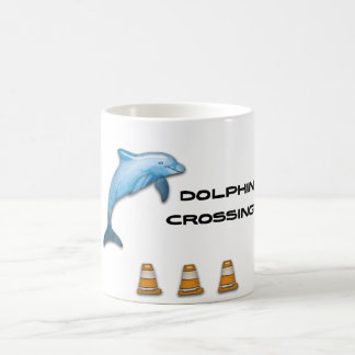 Dolphin Crossing Coffee Mug