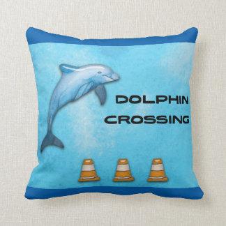 Dolphin Crossing Cushion