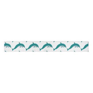 Dolphin Custom Grosgrain Ribbon