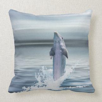 """Dolphin Custom Throw Pillow 20"""" x 20"""""""