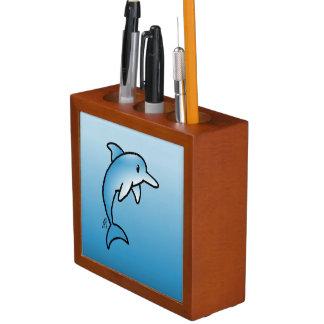 Dolphin Desk Organiser