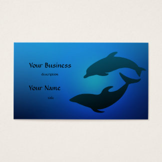 Dolphin Dolphins Business Card