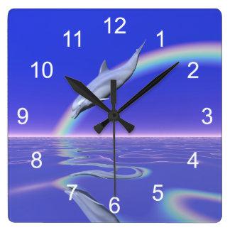 Dolphin Download Wall Clocks
