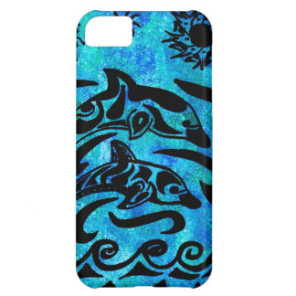 Dolphin Drawing Case For iPhone 5C