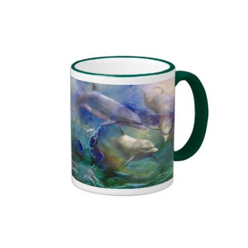 Dolphin Dream Art Mug