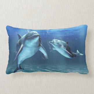 Dolphin Dream Lumbar Pillow