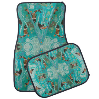 Dolphin Dreaming Full Set Car Mats