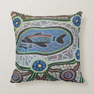 Dolphin Dreaming Pillow Cushion